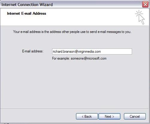 Virgin Media Webmail 8